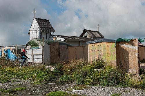 2016/10/17 calais frankrijk : beelden van het vluchtelingenkamp van de jungle van calais foto ivan put