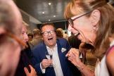 2018/05/21 anderlecht belgium : gala diner op anderlecht voor oudspelers met oud voorzitter roger vande nstock en nieuwe voorzitter marc coucke foto ivan put